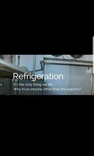 Commercial fridge repair, trade in and sale