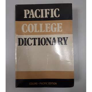 Pacific College Dictionary