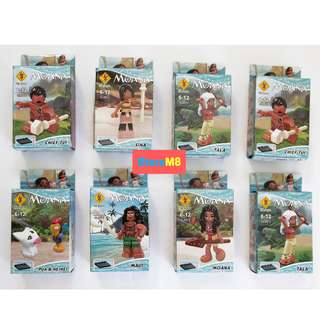MOANA LEGO LIKE COLLECTION SET (8PCS)
