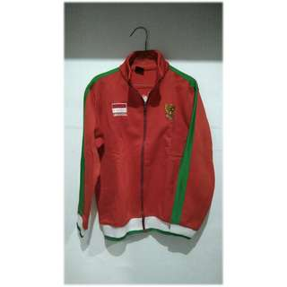 Jaket Football Timnas Indonesia fit to L