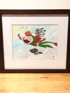 Martin Hsu Dragonboy Painting Original Art