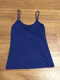 Bershka Blue Camisole
