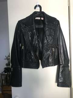 """Sass & bide """"want more"""" leather jacket"""