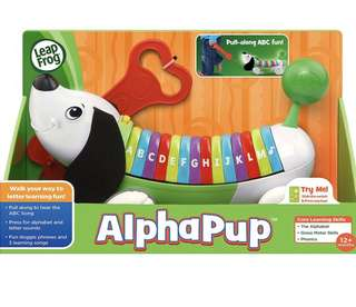 BNEW Leap Frog Musical Alphapup (dog)