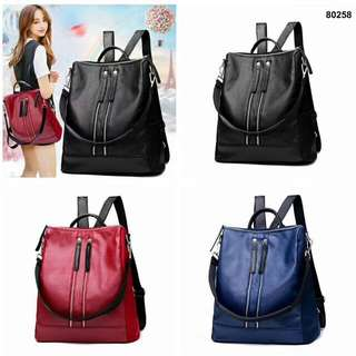 FREE ONGKIR FASHION BACKPACK LADY 80258*