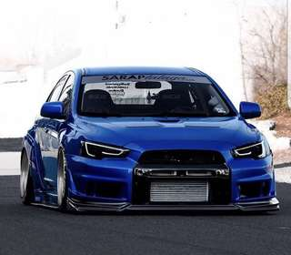 Mitsubishi Lancer Ex / Evolution X Audi Styled Headlight