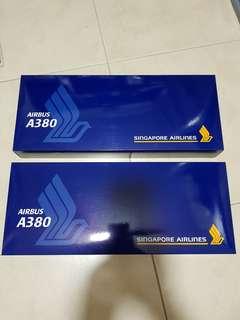 Singapore Airlines Airbus A380 1:200 BNIB