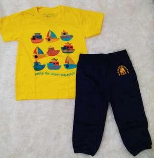 Set baju anak cowok