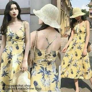 Korean Pineapple Dress