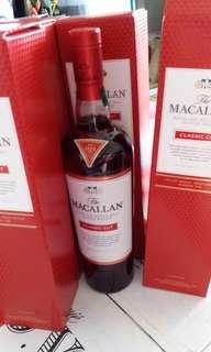 麥卡倫特選2017ClassicCut 威士忌700ml with box, 香港行貨。每支