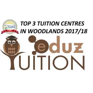 EduZ Tuition Centre, Woodlands. 5minutes walk from Marsiling MRT.