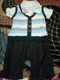 jumper baby size 6-12 bulan