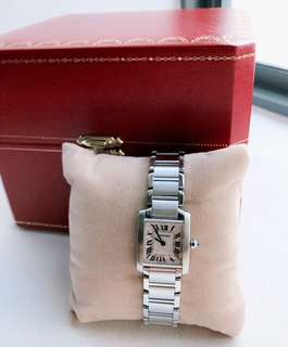 Cartier Tank Francaise watch (small)