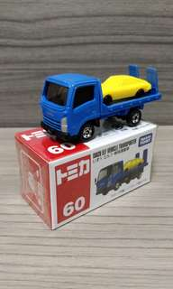 Tomica 60 Isuzu Elf Vehicle Transporter