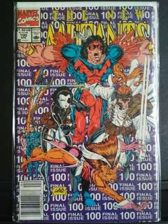 New Mutants 100 1st Print Newstand.