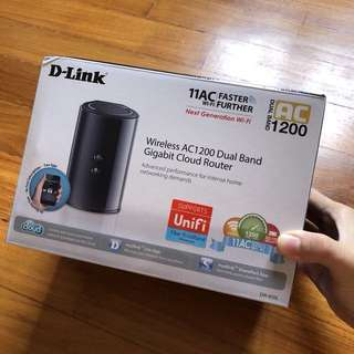 Dlink |  AC1200 Dual-Band Cloud Router
