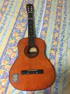 Classical Guitar Synchronium w guitar case