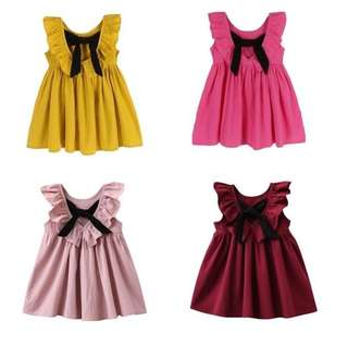 RM30 GIRLS FASHION FLY SLEEVE DRESS