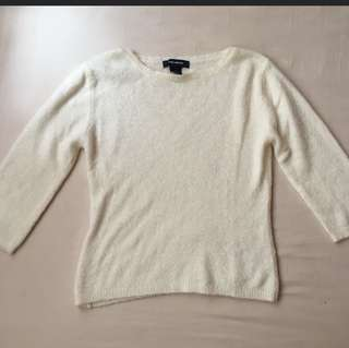 Fuzxy 3/4 Sleeve Jumper