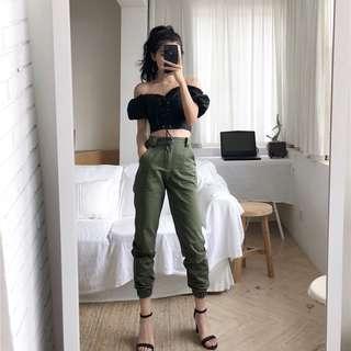 Keira Harem High Waist Pants