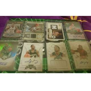 NBA Jersey Cards and Autograph Cards.