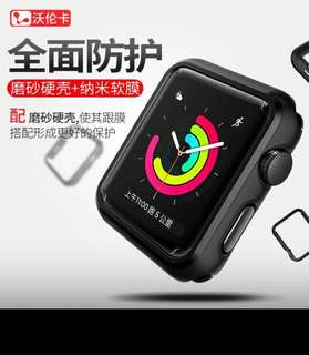 Iwatch black bumper with screen protector