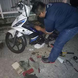 Spark 135 / onsite repair / magnetic coil / battery / rectifier / servicing / mobile mechanic