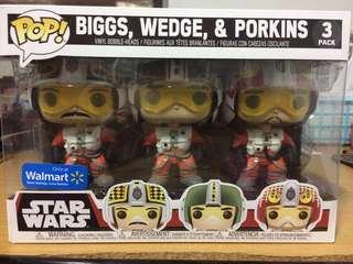 Funko Pop! Star Wars: X-Wing Pilots (Walmart Exclusive)