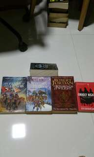 Highly rated fantasy exciting novels