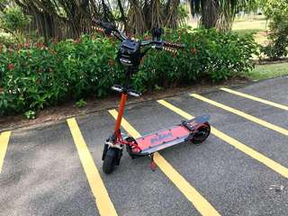 Futecher 4 52v 26Ah Scooter with CarbonRevo Accessories worth more than $300