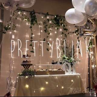 [RENTAL] Fairylight Backdrop/ Photobooth 💕🎉✨