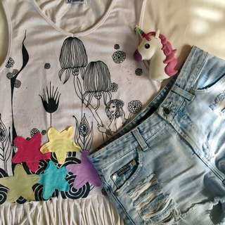 Cropped Summer Top