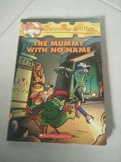 Geronimo Stilton:the mummy with no name