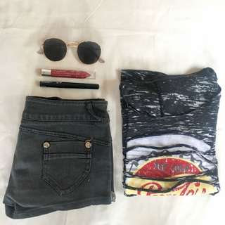 Pepsi Cropped T
