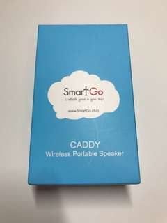 SmartGo Caddy Wireless Portable Speaker 無線藍芽喇叭