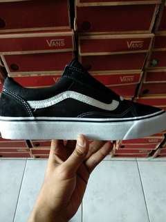READY STOCK! Vans Classic Oldskool Black White