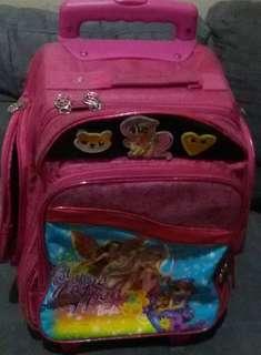 Barbie Trolley School Bag