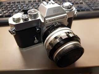 Nikon El 搭50mm f1.8