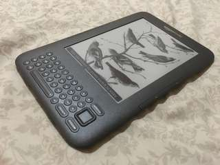 Amazon Kindle Keyboard 3rd Generation Ebook Reader