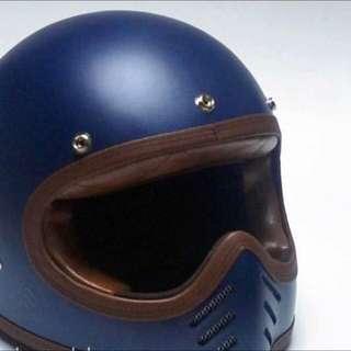 Helmet Vintage Motocross Vanity