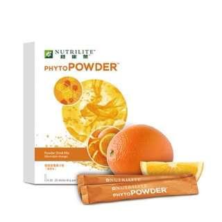 香橙味植物營養果汁粉