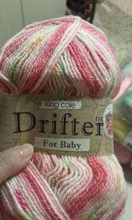 Yarn - Drifter for baby byKingCole (3 balls)