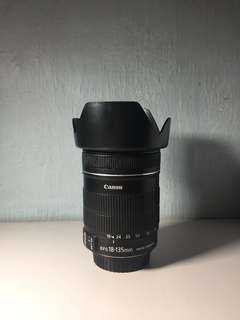 Canon EFS 18-135mm f/3.5-5.6 IS