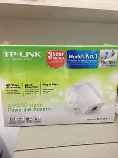TP-Link TL-PA211 AV200 Nano powerline adapter