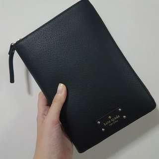 Kate Spade Zip Around Agenda - Matt Black