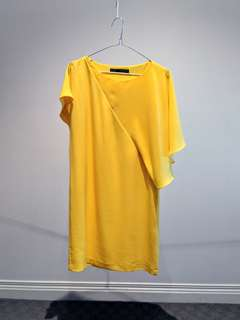 Yellow Zara Dress - Size S