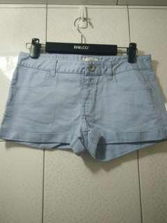 Net 美美淺藍色 短褲 36號