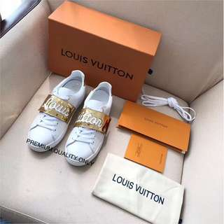 Louis Vuitton Frontrow Sneaker - gold