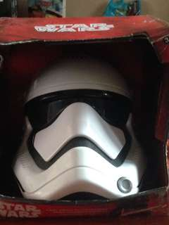 VOICE CHANGING MASK stormtrooper