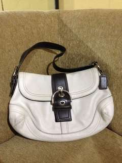 Auth Coach hobo bag